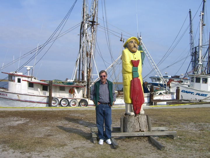 19 Two old salts in Apalachacola, FL