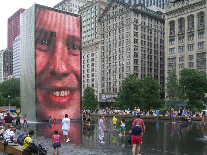 46 The Crown Fountain